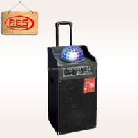 profesional pa sound system speaker dj dancing power amplifier speaker with leser light