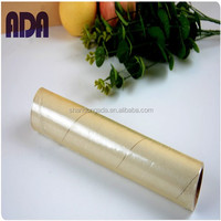 scrap plastic film roll & Food Wrap, Cling Film with 9-12 cim thickness