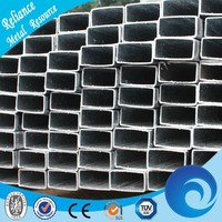 PRE GALVANIZED RECTANGULAR PLASTIC COATED STEEL PIPE