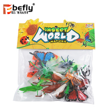 Kids school play natural grasshopper insect model mini toys animals
