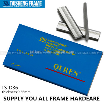 TS-D36 Flexible point 10000pcs picture frame flexi pins framing nails supplies from China