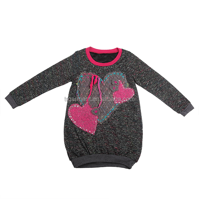 Soul mate fitted kids tops t-shirts coats dress design/kids garments suppliers