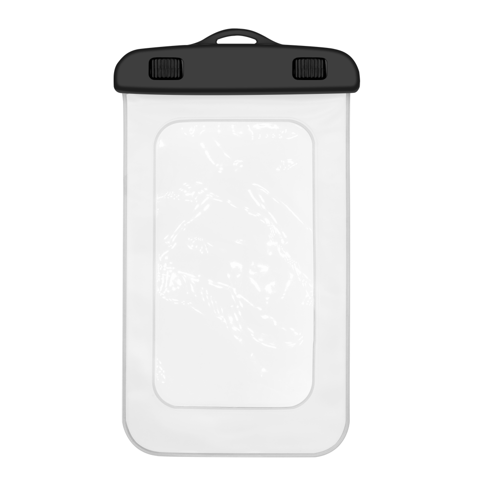 custom logo Universal waterproof moblie phone dry bag pouch case with waist strap for phone