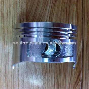 Piston for tamping rammer