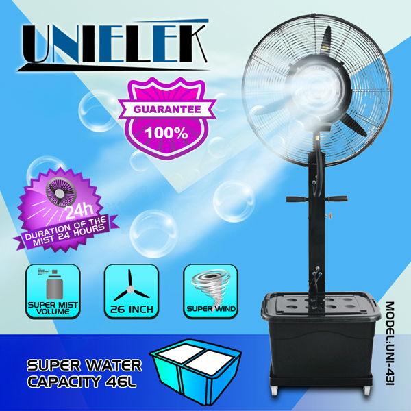 Ventilador de nebulizaci n de agua port til de iones spray - Ventiladores de agua ...
