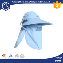2015 alibaba cheap outdoor sun protection hat with neck cover