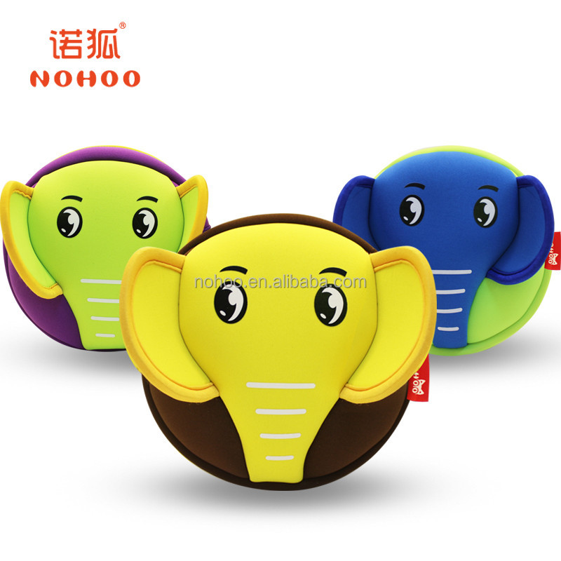 Nohoo brand neoprene children messenger bag animal cartoon kids cross body bag for boys girls