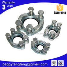 clamp on pipe fittings flange clamp stainless steel clamps FS/FL
