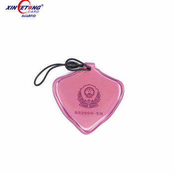 13.56mhz ISO14443A animal epoxy sticker nfc dog tag with 504 bytes