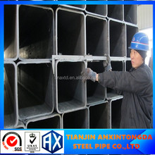 galvanized square/rectangular steel tube/pipe manufaturer manufacturing of steel pipes