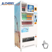 High quality snack drink salad vending machine in China