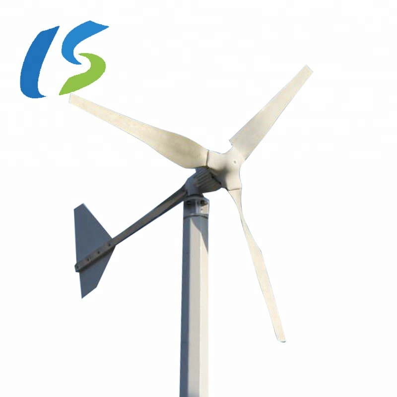 1000w Home Off Grid Mini Wind Turbine System 48V/96V/120V