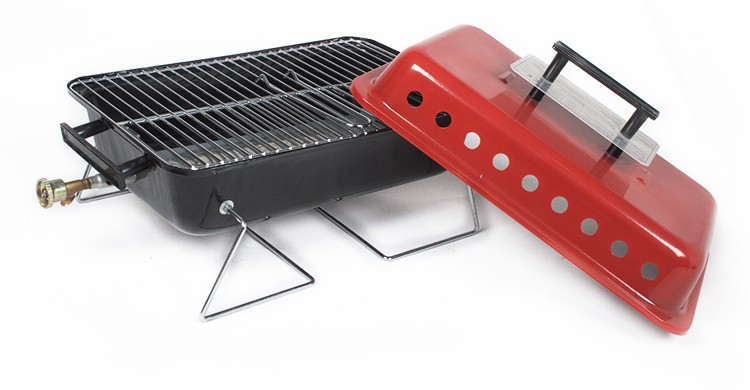 alibaba china smokeless bbq grill windproof round burner gas grills
