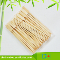 Manufacturer Wedding/Party Decoration Gun shape bamboo kebab skewer sticks for food