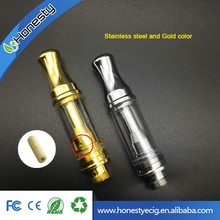 High Quality No leaking Glass Ceramic Wickless Cartridge 510 Atomizer Hemp/Cbd/Thc Oil Vapor Tank