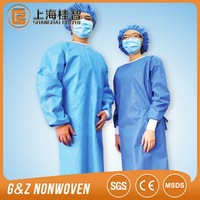 disposable surgical gown SMS