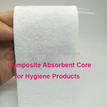 Hot sale nonwoven composite absorbent core for hygienic products