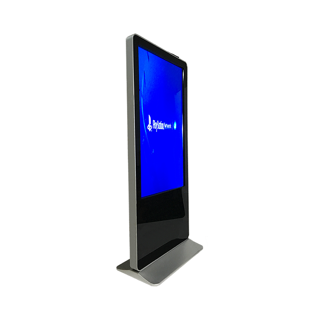 Shenzhen manufacturer 55 inch floor stand alone advertising led display