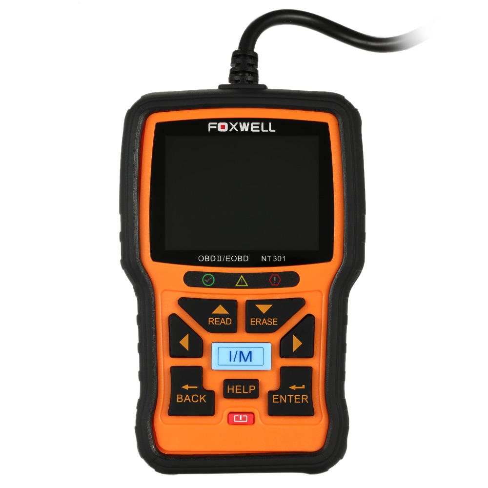 New Automotive Scanner Foxwell NT301 OBD2 Auto Diagnostic Tool Engine Scanner Fault Code Reader with <strong>O2</strong> sensor Same As AL519