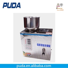 Semi automatic chili powder pouch packing and filling machine
