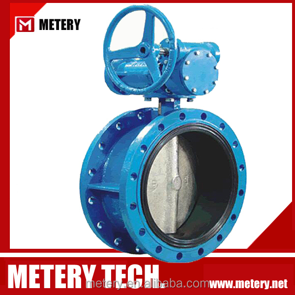 Flanged concentric disc butterfly valve MTD341X-10/16