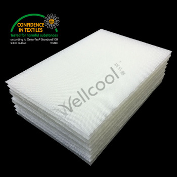 overlay 3d mesh fabric mattress liner