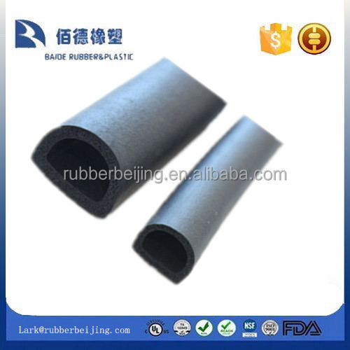 Half -round D shape extruded foam seals /gaskets