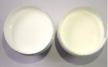 white/clear elastic pastes for fabric/garments printing