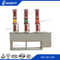 CE ISO9001 ZW7-40.5 33kv outdoor high voltage vacuum circuit breaker automatic recloser
