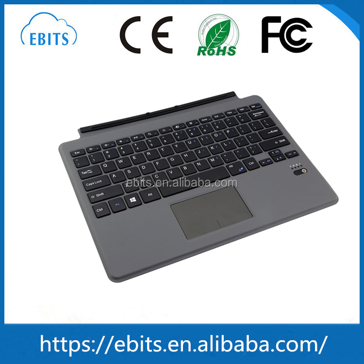 Alibaba China gold supplier bluetooth tablet keyboard for Microsoft surface pro 4 keyboard case