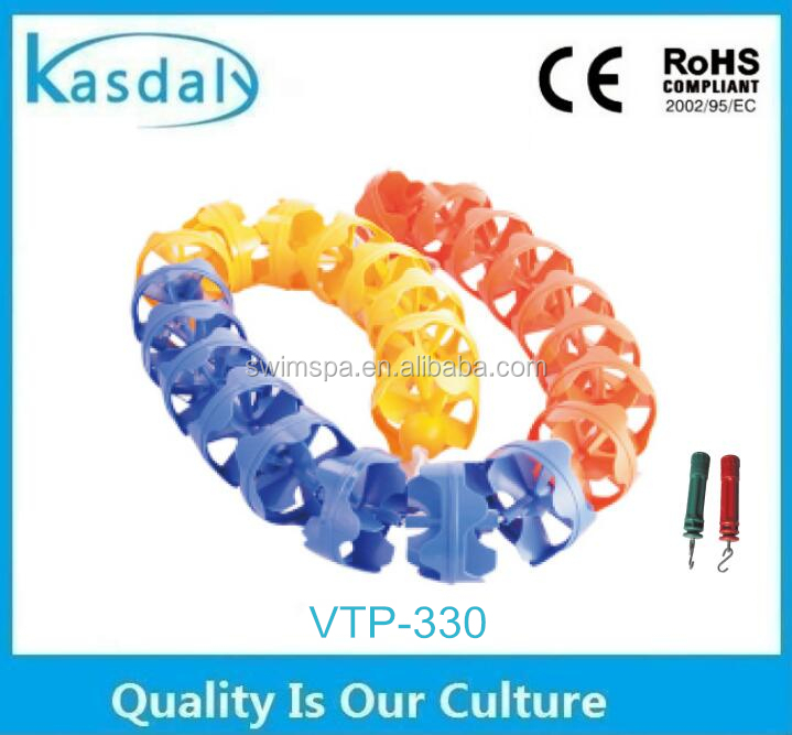 wholesale swimming pool accessories swimming pool racing line / pool floating lane rope