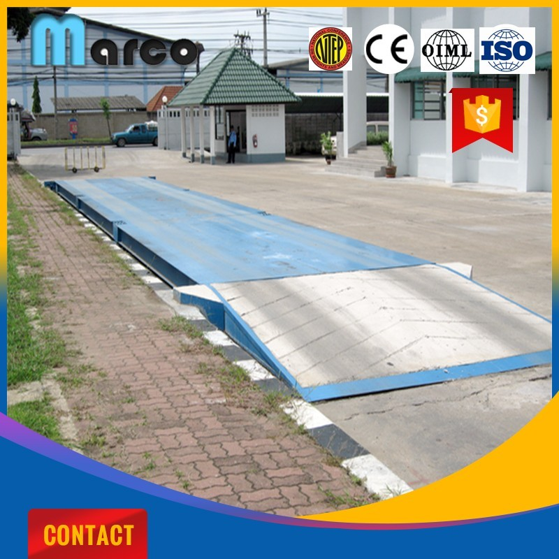 new type pitless weighbridge truck scale