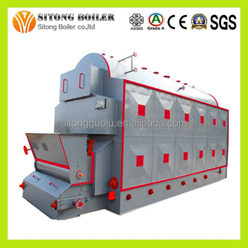 Original Combine Heat And Power WOOD CHIPS Gasifier Power Plant View WOOD