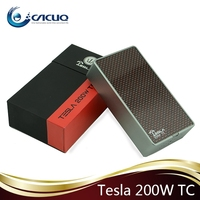 E cig Original Tesla Mods TC 200W Box Mod Tesla 200W TC