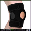 2016 Hot football basketball volleyball black durable knee shin protector guard pad Knee Supports Kneepad