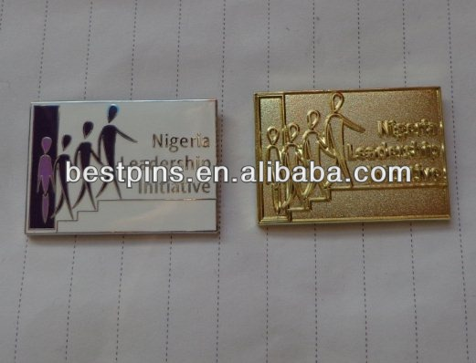 Nigeria leadership initiative pin badge(BT-Lapel pin-20131204-463)