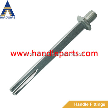 screw nut head square spindle for handle & lock,lock spindle,handle spindle