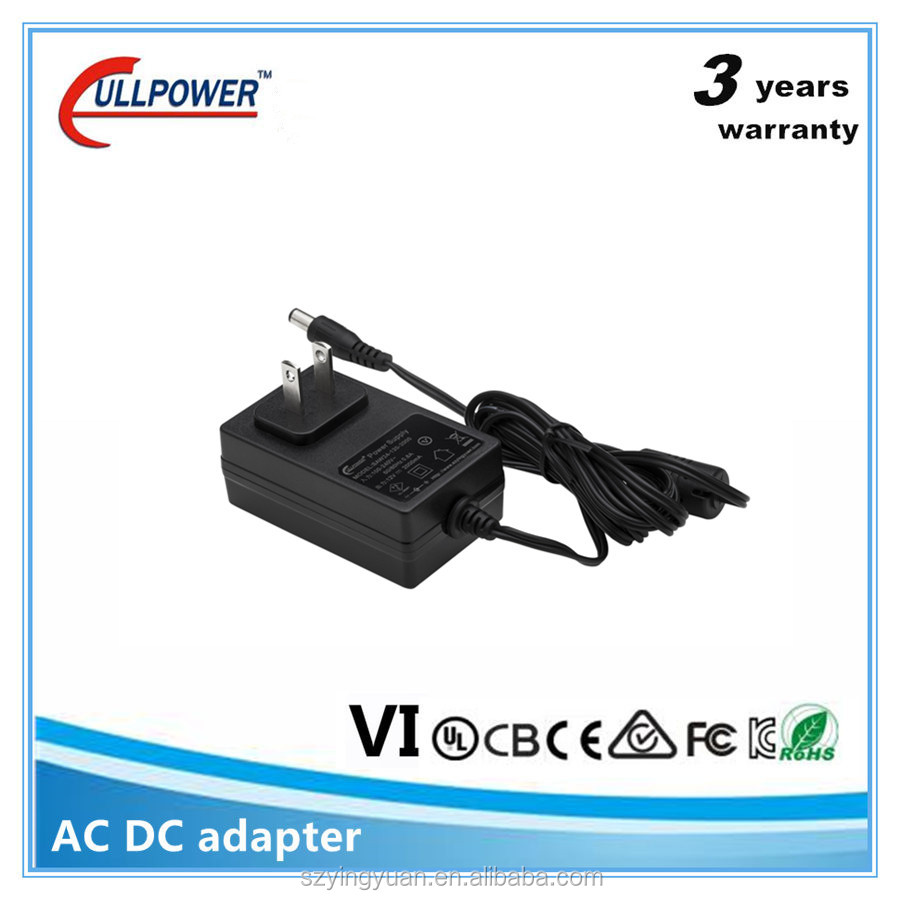 UL FCC CE ac adapter adaptor charger output 5v 12v 500ma 2a for australia