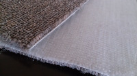 stitch bonded nonwoven fabric for carpet backing