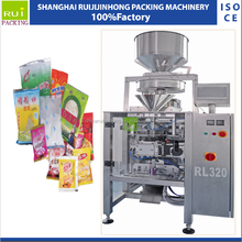 China manufacturer cashew nut bagy candy cookies packing machine