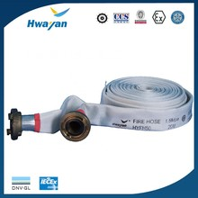 white long fiber polyester 40MM 50MM 65MM MED fire hose