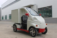Mini electric delivery truck