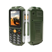big battery Dual flashlight Dual sim cards feature phone Rugged mobile phone 2.4inch feature phone