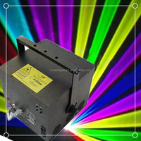 Disco DMX512 5w 3w rgb multi color Animation laser light show equipment for sale