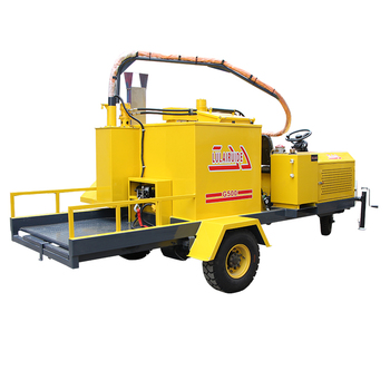 Maintenance driveway repair products hydraulic crack solution machine movable filler and sealer deep cutting road crack repair