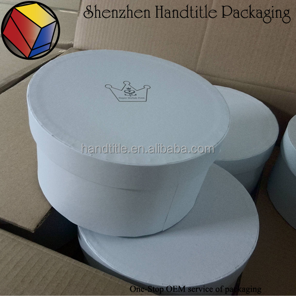 Recyclable,Recycled Materials Feature and gift round flower box packing,flower Use flower box round