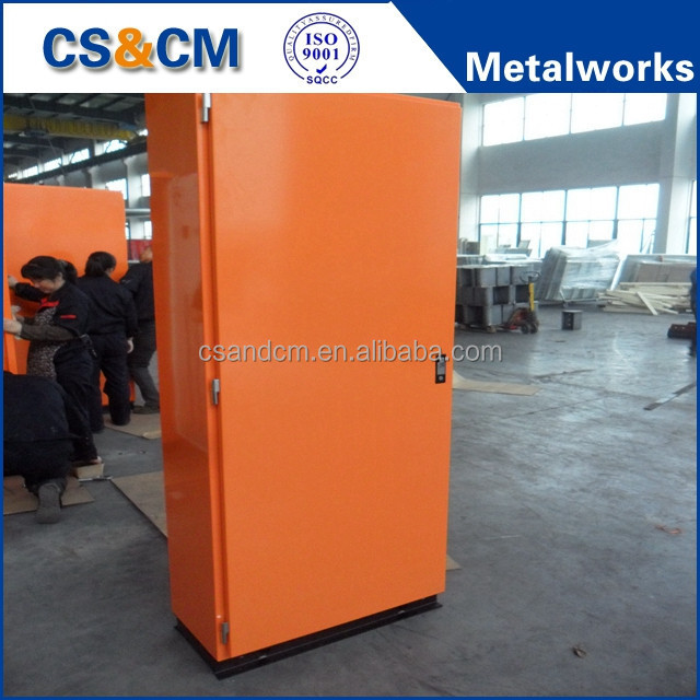 sheet metal outdoor IP 54 enclosure fabrication custom metal fabrication box