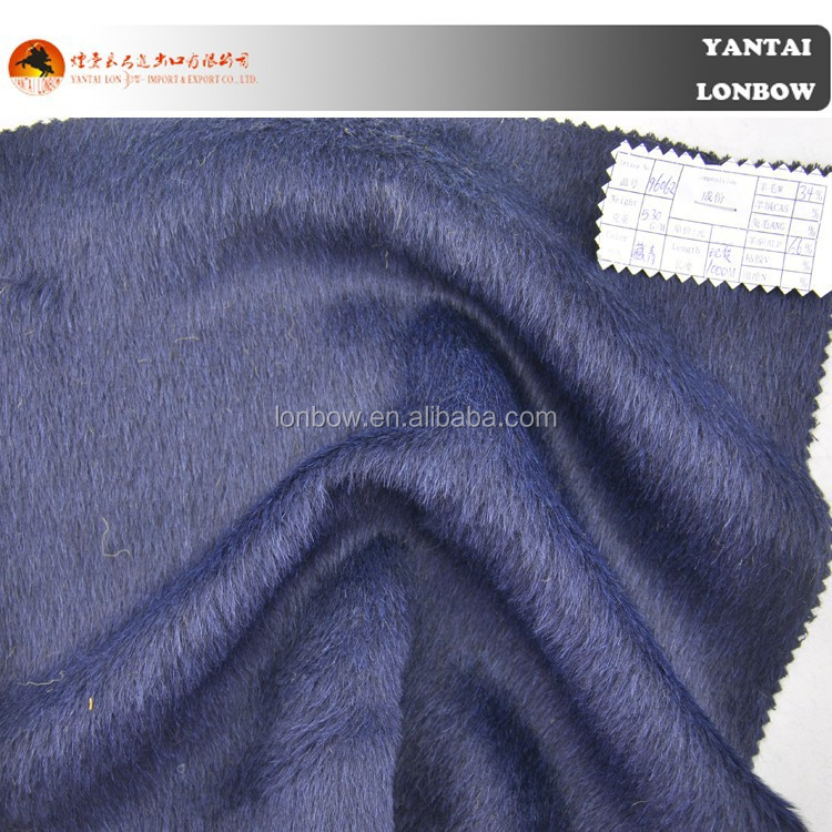 2015 heavy woolen alpaca coat fabric discount