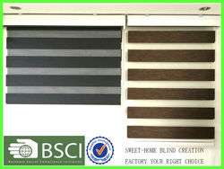 Hand Control Durable Zebra Blinds Window Cover