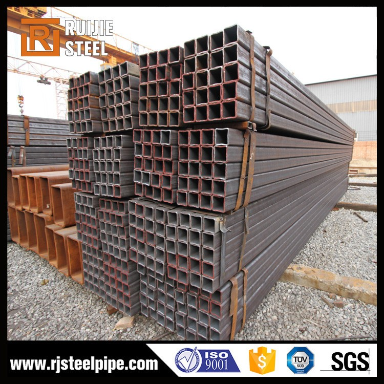 bs1387 welded carbon steel square pipe,cold formed rectangular tube,astm a500 ms steel hollow section / shs/rhs